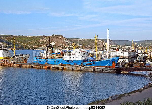 port, bateau, peche - csp9344062