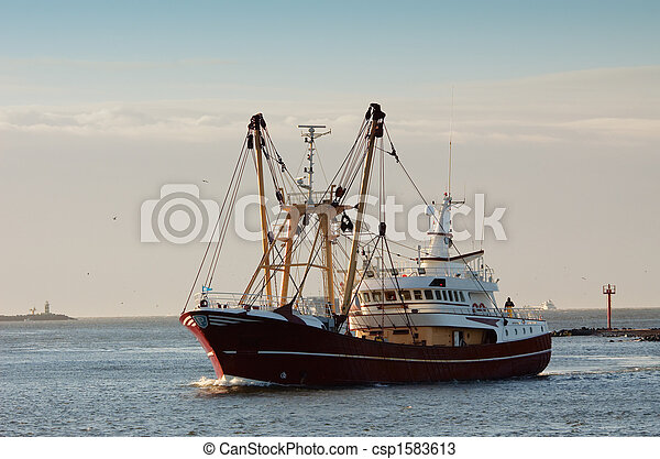 port, bateau, peche - csp1583613