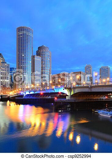 port, boston - csp9252994