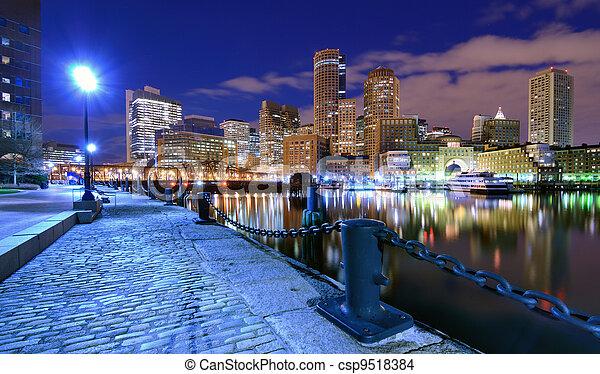 port, boston - csp9518384