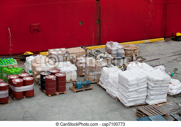 port, cargaison - csp7100773
