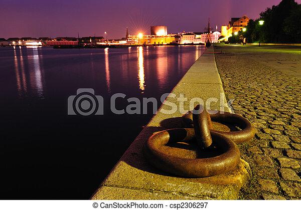 port, danemark, copenhague - csp2306297