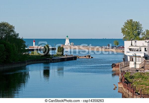 Port Dover lighthouse - csp14359263
