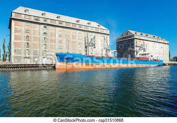 port., mer, gdansk. - csp31510868