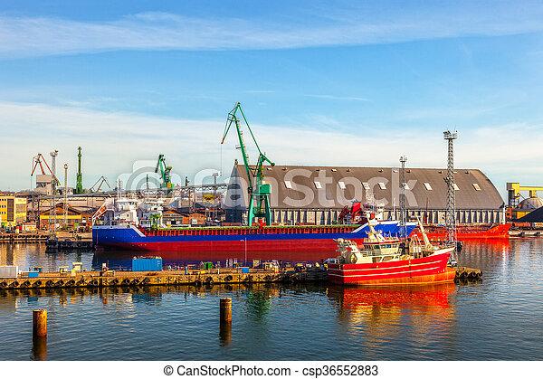 Port of Gdynia - csp36552883