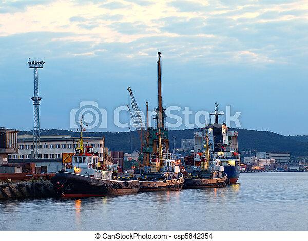 Port of Gdynia - csp5842354