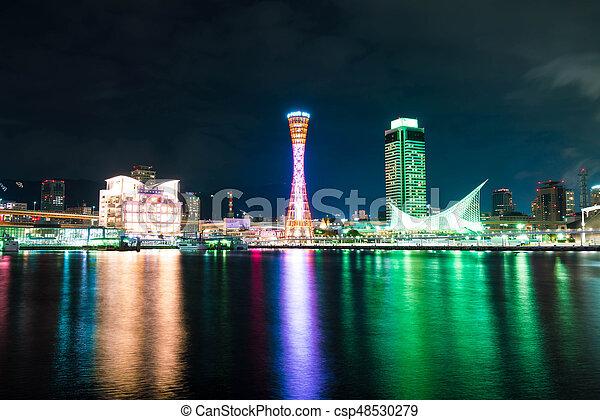 Port of Kobe Tower Kansai Japan - csp48530279