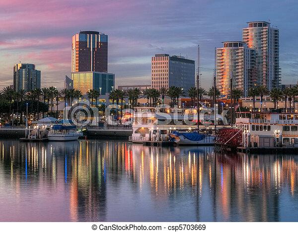 Port of Los Angeles - csp5703669