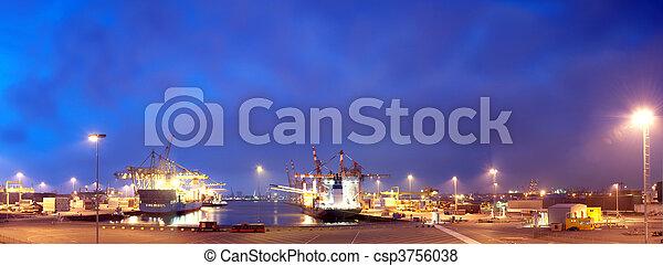 port, rotterdam - csp3756038