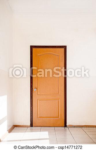 porta, fechado - csp14771272