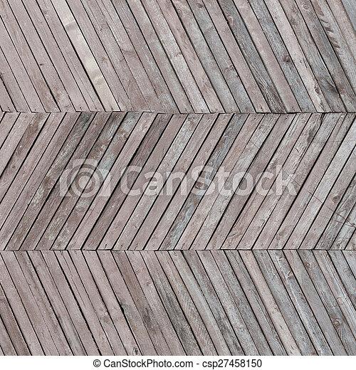 portato, legno, assi, fondo - csp27458150