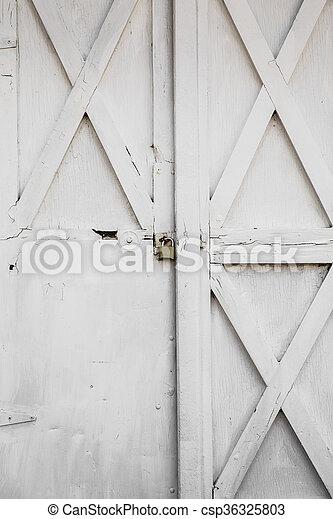 porte, grange - csp36325803