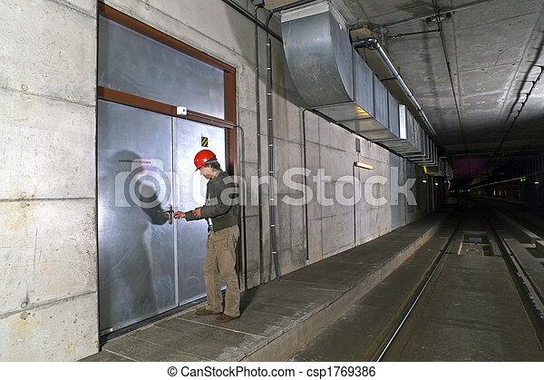 porte, ouvrir - csp1769386