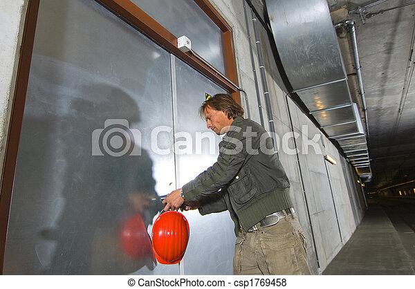 porte, ouvrir - csp1769458