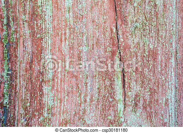 porte, peint, texture, bois, fond, vieux, grange - csp30181180
