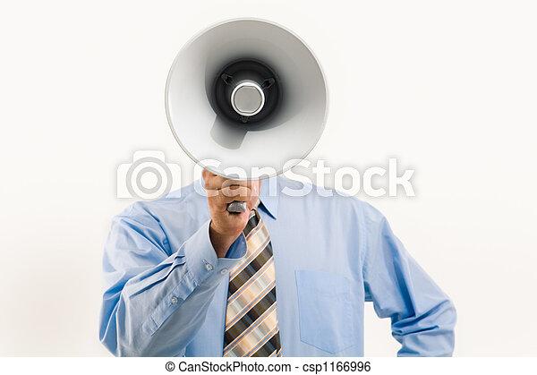 porte voix, par, parler - csp1166996