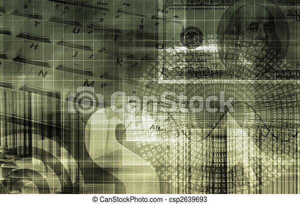 portfölj, investering - csp2639693
