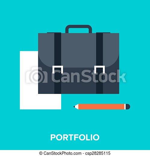 portfölj - csp28285115