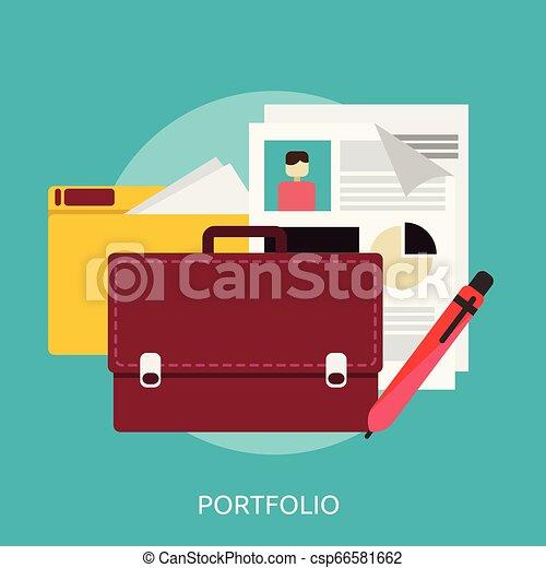 Portfolio Conceptual illustration Design - csp66581662