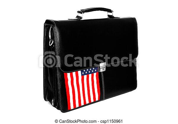 portfolio, vlag, usa - csp1150961