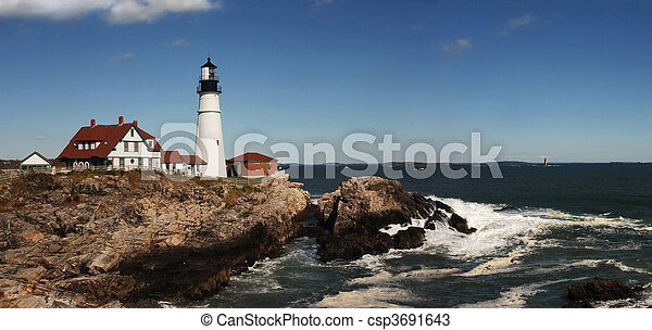 Portland Head Lighthouse - csp3691643