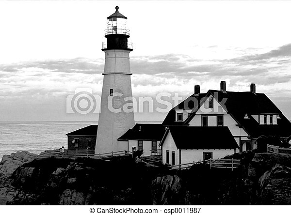 Portland Headlight - csp0011987