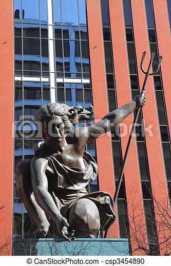 Portlandia statue. - csp3454890