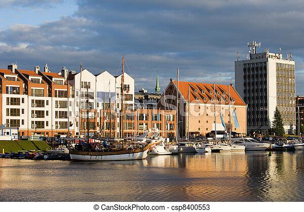 porto, cidade, gdansk - csp8400553