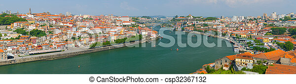 Porto in a summer day - csp32367132