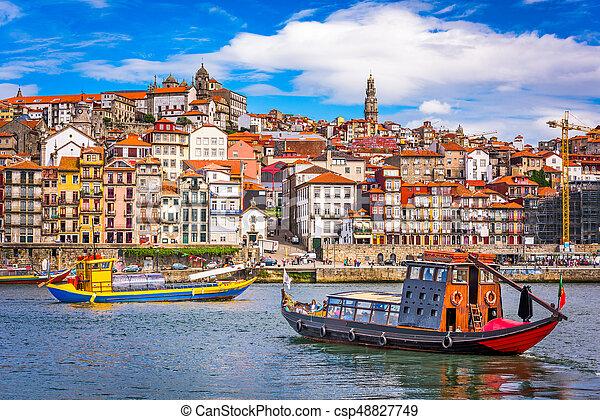 porto, portugal, horizon - csp48827749