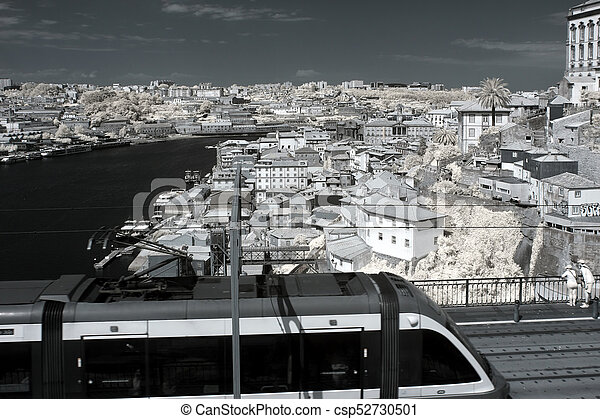porto, vieux, large, vue - csp52730501