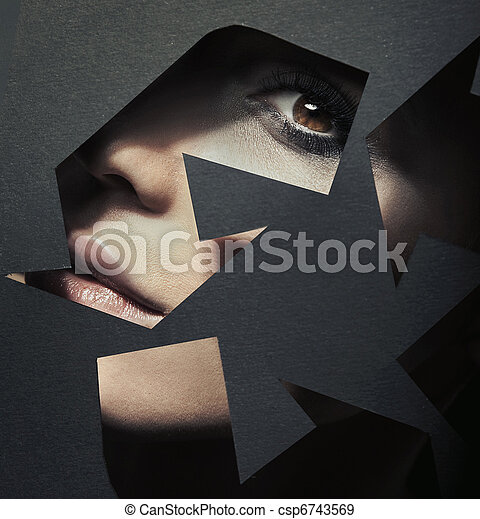 Bild eines Recyclingzeichens - csp6743569
