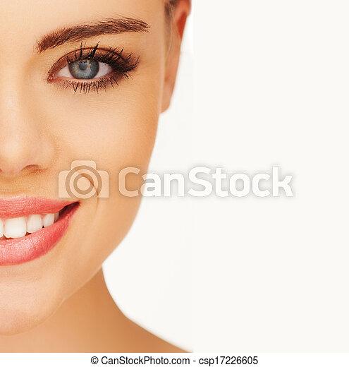 Ein hübsches Mädchenporträt. - csp17226605