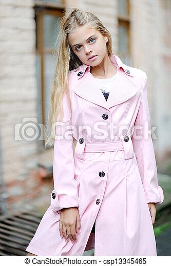 portrait of a beautiful girl - csp13345465