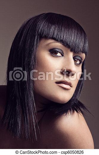 Portrait of a beautiful woman - csp6050826