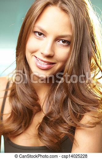 Portrait of a beauty - csp14025228