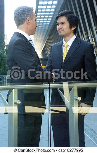 portrait of a business team - csp10277995