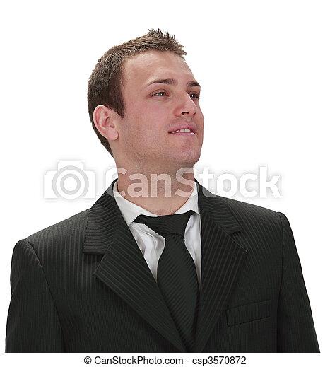 Portrait of a businessman - csp3570872