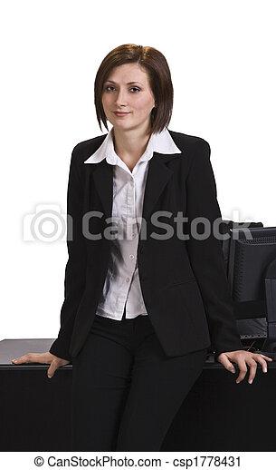 Portrait of a businesswoman - csp1778431