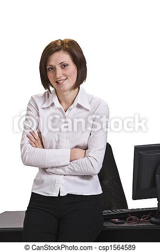 Portrait of a businesswoman - csp1564589