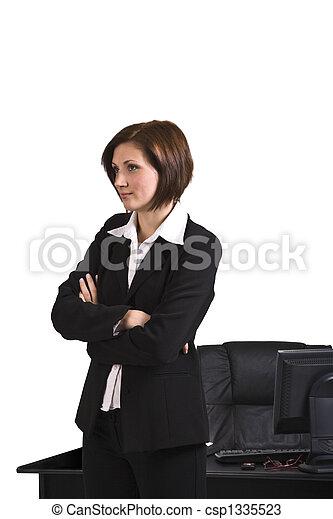 Portrait of a businesswoman - csp1335523