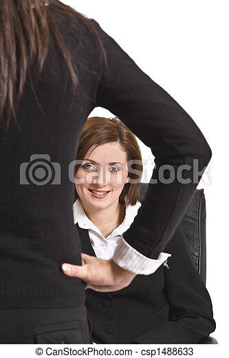 Portrait of a businesswoman - csp1488633