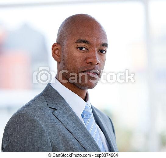 Portrait of a charismatic businessman  - csp3374264