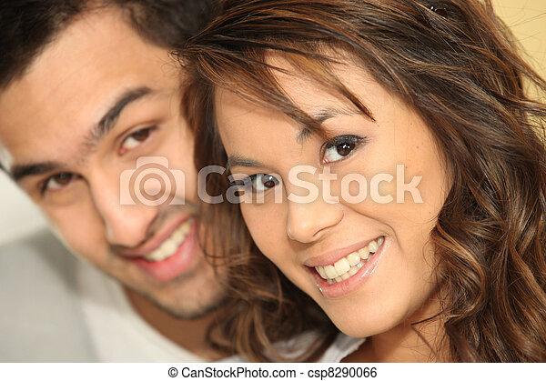 Portrait of a couple - csp8290066