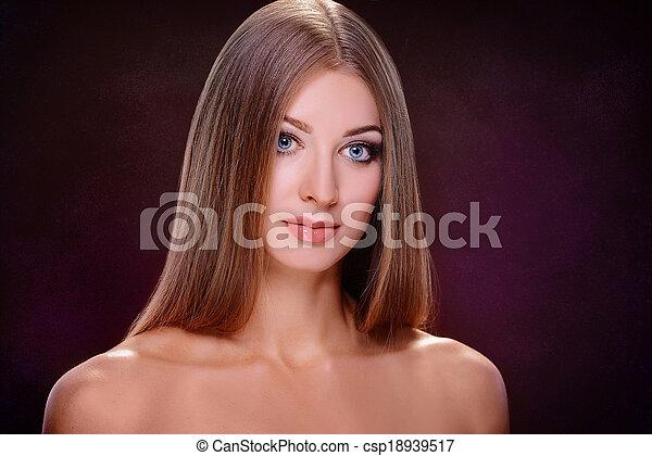 Portrait of a girl - csp18939517