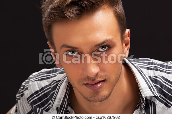 portrait of a handsome guy - csp16267962