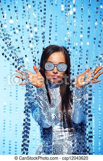 Portrait of a stylish woman - csp12043620