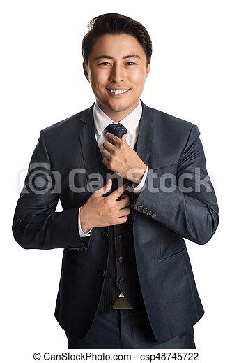 Portrait of a successful businessman - csp48745722