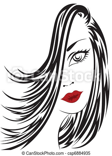 portrait of a woman - csp6884935