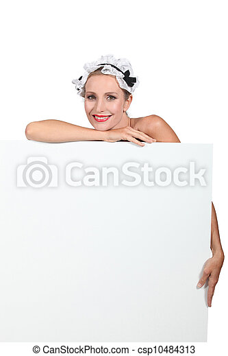 portrait of a woman in costume - csp10484313
